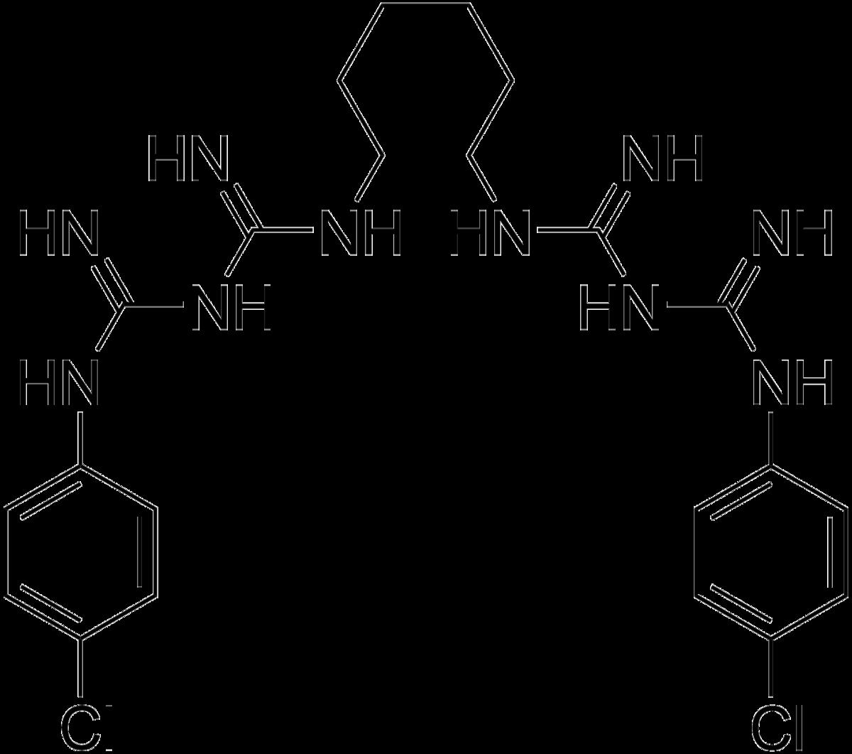 hlorgeksidin-formula