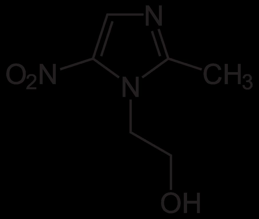 metronidazola-formula
