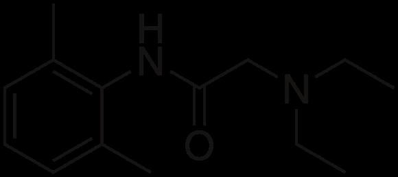lidokain-formula